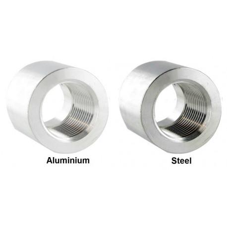 Fiting hegesztésre Fitting heggesztésre anya 1/4 NPT,aluminium,acél | race-shop.hu