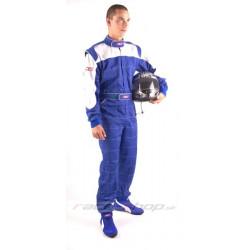 Kombinéza RACES Classic modro/biela