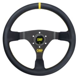 3 küllős kormány OMP WRC, 350mm bőr, 70mm