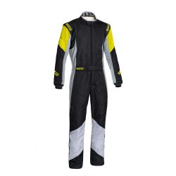 FIA race suit Sparco Grip RS-4 black/yellow