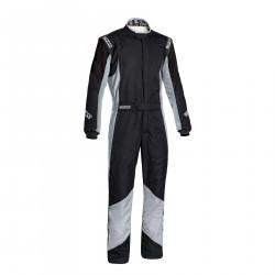 FIA overál Sparco Grip RS-4 black/grey