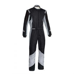 FIA race suit Sparco Grip RS-4 black/grey