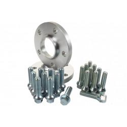 Szett 2db nyomtávszélesítők Peugeot - 17mm (hosszabb csavarokkal), 4x108, 65,1mm