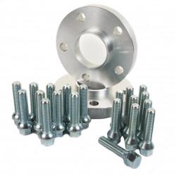 Szett 2db nyomtávszélesítők VW - 20mm (hosszabb csavarokkal), 4x100, 57,1mm