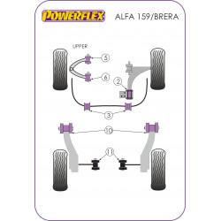 Powerflex Első, felső lengőkar, elülső szilent,állítható Alfa Romeo 159 (2005-2011)