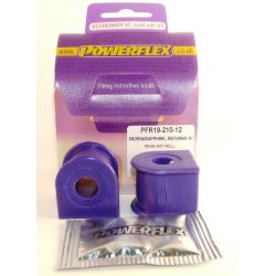 Powerflex Hátsó stabilizátor szilent 12mm Ford Sierra 4X4 2.8 & 2.9, XR4i