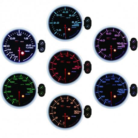 DEPO PK széria 52mm, 7 Farieb DEPO Programozható óra Turbonyomás elektromos - 1 és 2bar 7 szín | race-shop.hu