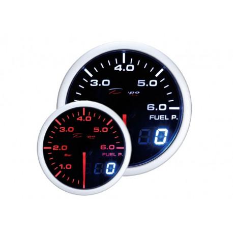 DEPO mérő órak 52mm - Dual view DEPO óra Üzemanyagnyomás- Dual view széria | race-shop.hu