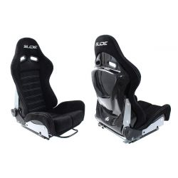 Racing seat SLIDE X3 suede