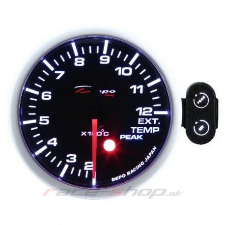 DEPO PK széria 52mm Orák DEPO Programozható óra Kipufogógáz-hőmérséklet | race-shop.hu