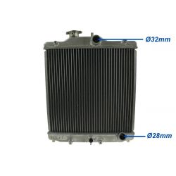 Aluminium vízhűtő Honda Civic 92-00