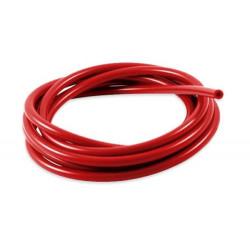 Szilikon vákum cső 3mm, piros