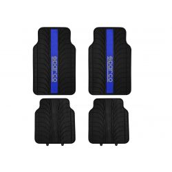 Sparco Corsa car floor mats -rubber(blue)