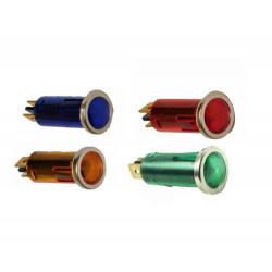 LED 12V kontrol izzó 12mm
