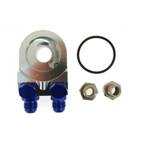 Olajhűtő adapterek 45° adaptér olaj pogácsa alá AN8 vagy AN10 | race-shop.hu