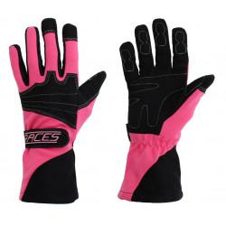Kesztyű RACES Classic EVO rózsaszín