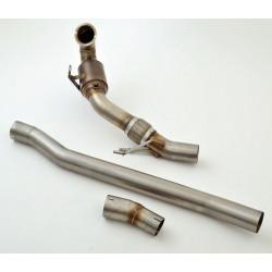 76mm Downpipeo sport kat. (rozsdamentes acél) - engedéllyel ECE (981450R-X3-DPKAHJS)