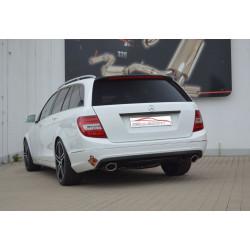 Gruppe A Kipufogó rendszer- Duplex Mercedes C/S/W204 C-Klasse - engedéllyel ECE (991609-X)