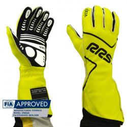 RRS Virage kesztyű FIA (külső varrás) sárga