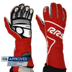 RRS Virage kesztyű FIA (külső varrás) piros