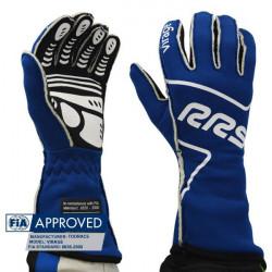 RRS Virage kesztyű FIA (külső varrás) kék