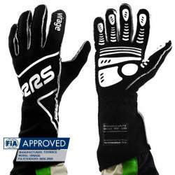RRS Virage kesztyű FIA (külső varrás) fekete