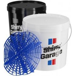 Shiny Garage Bucket 20 l - alátét elválasztóval