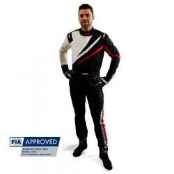 FIA Race overál RRS EVO Dynamic Black/ Red
