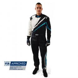 FIA Race overál RRS EVO Dynamic Black/Blue