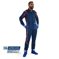 FIA Race Suit RRS EVO Monte Carlo Blue/ Red