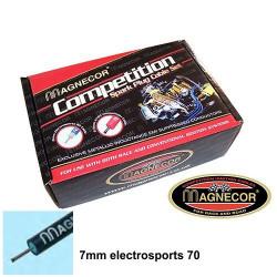 Gyújtáskábel Magnecor 7mm sport, ALFA ROMEO 33 1.7 i.e. SOHC 16v (Catalyst)