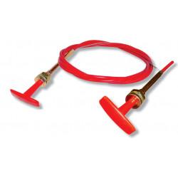 Bovden akkumulátor megszakító vagy tűzoltó rendszerhez,3,7 m