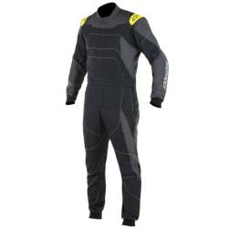 FIA Overál ALPINESTARS GP Race Black/Grey/Yellow