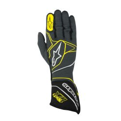 Versenykesztyű Alpinestars Tech 1ZX with FIA (külső varrat) sárga