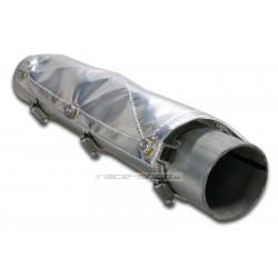 Tepelný štít na výfukové potrubia Thermotec, 34,4x15,2cm