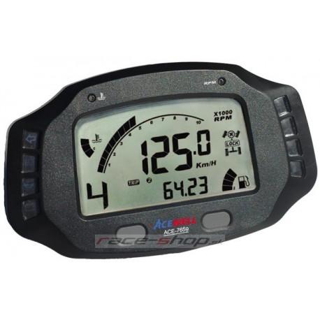 Digitális fedélzeti mutatók Digitális kijelző tábla Acewell ACE-7859   race-shop.hu