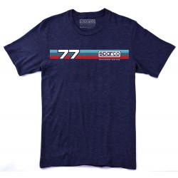 Sparco rövid ujjú (T-Shirt) Rally kék