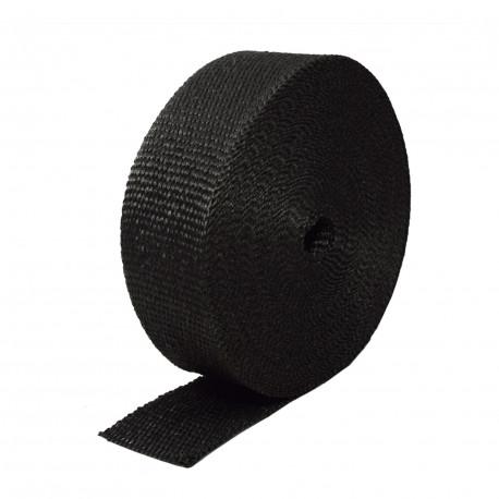 Átfolyó szemek Kipufogó bandázs,fekete, leömlőkre és kipufogócsövekre 50mm x 15m x 2mm   race-shop.hu