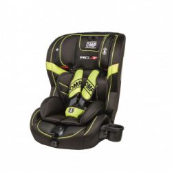 Gyerekülés OMP Convertable child's carseat - black/red (9-36 kg)
