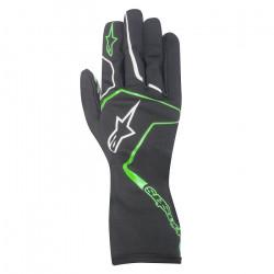 Alpinestars Tech 1 K RACE kesztyű Fekete / zöld