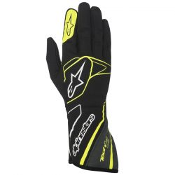 Alpinestars Tech 1-Z FIA homológ kesztyű - fekete/sárga