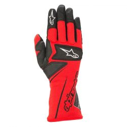 Alpinestars Tech M kesztyű FIA homológ- piros / fekete