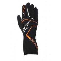 Alpinestars Tech 1 K RACE kesztyű fekete / narancs