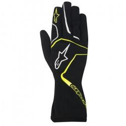 Alpinestars Tech 1 K RACE kesztyű - gyerekek - fekete / sárga