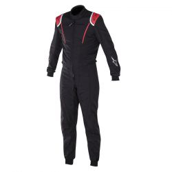 FIA Overál ALPINESTARS Super KMX-1 Fekete / Piros