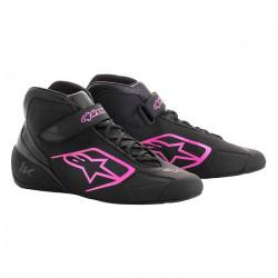 Cipő ALPINESTARS Tech-1 K - Fekete / Pink