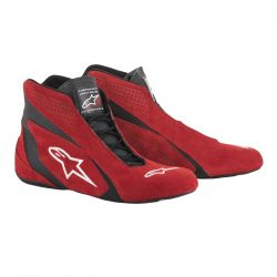 Cipő ALPINESTARS SP FIA - Piros/Fekete