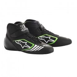 Cipő ALPINESTARS Tech-1 KX - Fekete / Zöld