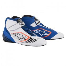 Cipő ALPINESTARS Tech-1 KX - Kék / Fehér / Narancs