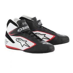 Cipő ALPINESTARS FIA Tech 1 T - Fekete / Fehér / Piros